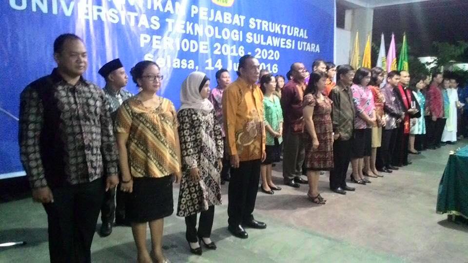 Rektor Lantik 28 Pejabat Struktural dan Fungsional