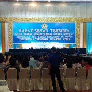217 Mahasiswa UTSU Wisuda di MCC, Rektor Ingatkan Soal Kualitas