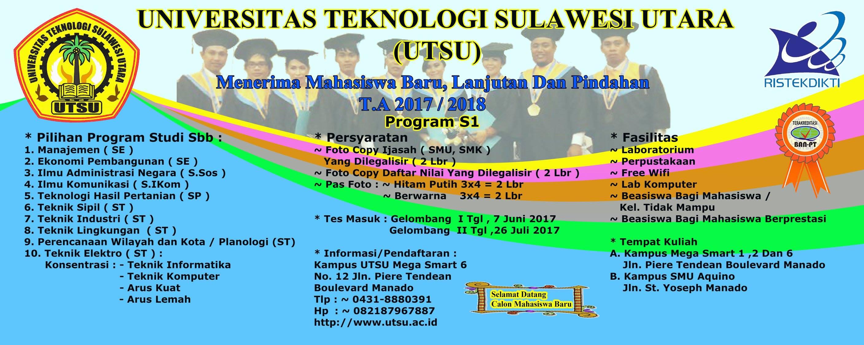 Pendaftaran Mahasiswa Baru TA. 2017/2018