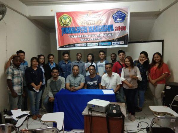Bekerjasama dengan AMSI Sulut, Pers Mahasiswa UTSU Gelar Pelatihan Jurnalis