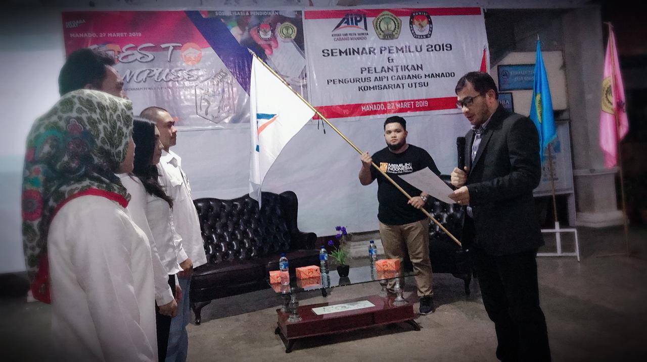 Pengurus AIPI Komisariat UTSU Resmi Dilantik