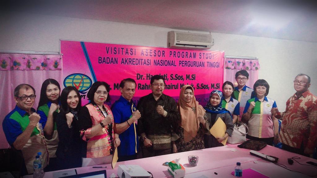 Asesor BAN-PT Visitasi Prodi Ilmu Adminitrasi Negara